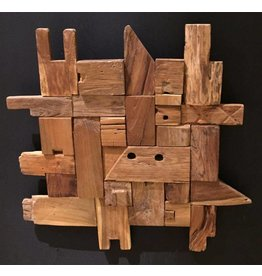 Wandpaneel Wood Blocks 70