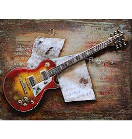 3d painting 80x120cm Guitar