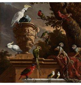 Dibond schilderij Menagerie