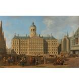 Schilderij Dibond Amsterdam Stadhuis op de Dam