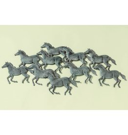 Wanddekoration 3D-Pferde