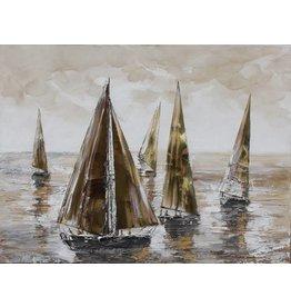 Lee Leinwand Malerei 100x100cm