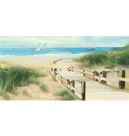Ölmalerei Sommer 60x150cm