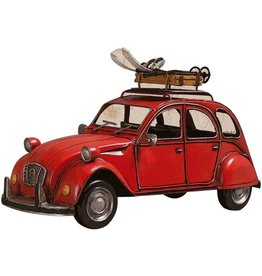 Wand Deco Metall 2CV