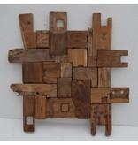 Eliassen Wandpaneel hout Blokken 70
