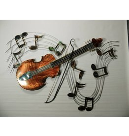 Wanddekoration 3d Violin