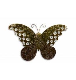 Für Schmetterling gegen eine Wand groß