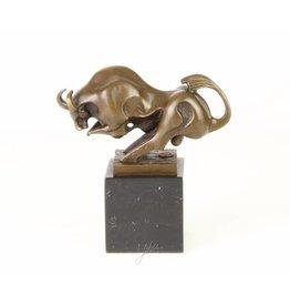 Moderne Bronze Stier