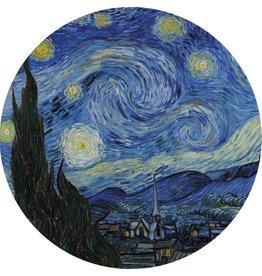 MondiArt Glas schilderij rond van Gogh