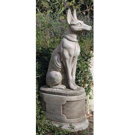 Dragonstone Sockel Oval dient Pharao Hund oder Katze