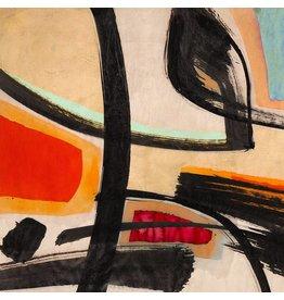 MondiArt Dibond Moderne Malerei 80x80cm