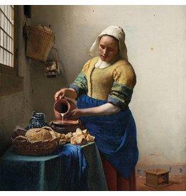MondiArt Dibond Gemälde Milchmädchen 100x100cm