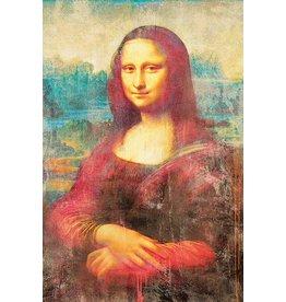 MondiArt Aluminiummalerei Mona Lisa 80x120cm