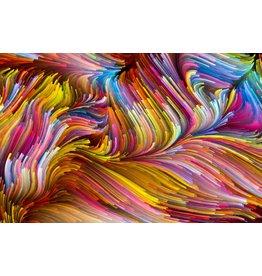 Glaswolle Malerei 110x160cm
