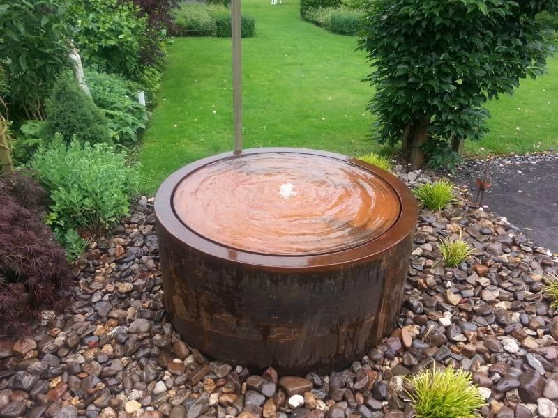 wassertisch adezz um cortenstahl in 6 gr en eliassen home garden pleasure. Black Bedroom Furniture Sets. Home Design Ideas