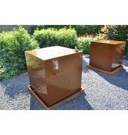 Adezz Producten Waterblock Cortenstahl Adezz in 2 Größen