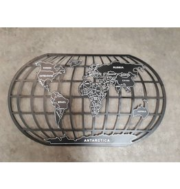 Eliassen Globe Wanddekoration 99x58cm