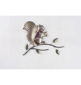 Eliassen Dekoration der Wand 3d Eichhörnchenmetall