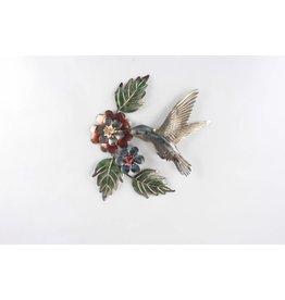 Eliassen Wanddekoration 3d Kolibri Metall