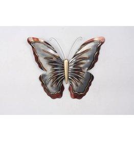 Eliassen Wand Schmetterling Metall groß
