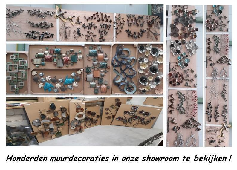 Eliassen Wanddecoratie 3d  Verenbos metaal