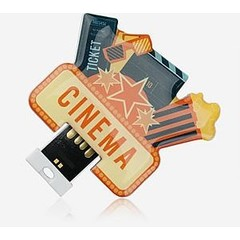 USB Stick USB2.0 Shape Insert