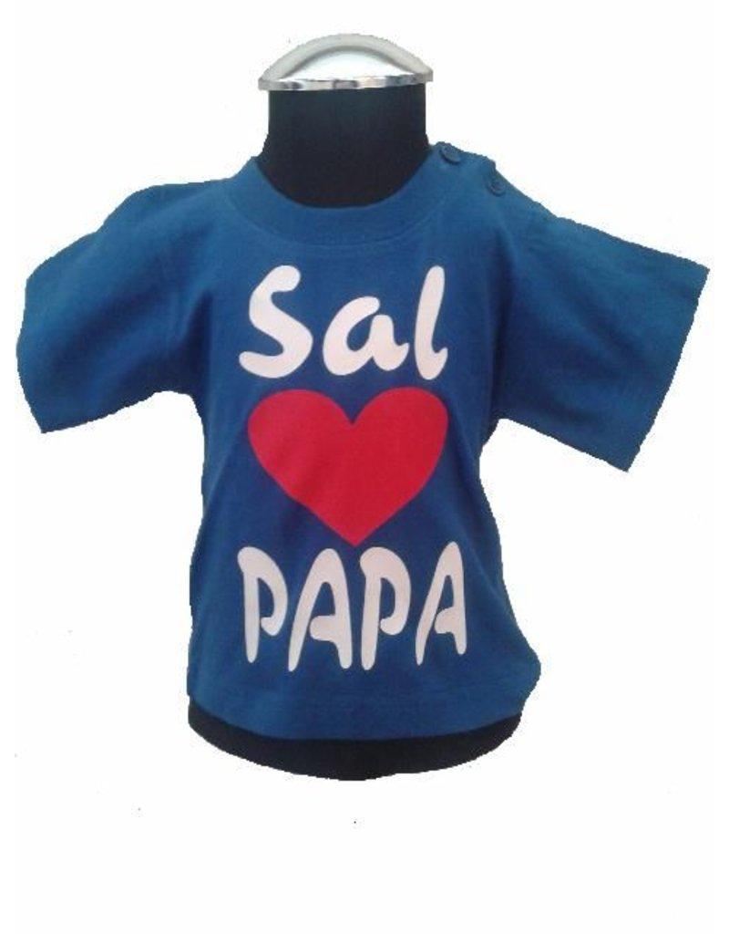 Love papa + eigen naam