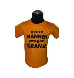 echte mannen dragen oranje