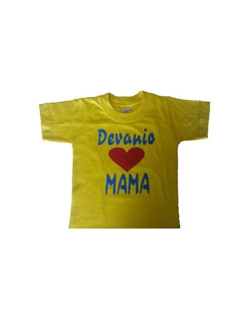 Love mama + eigen naam