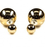 Double Dots Yellow Gold XL
