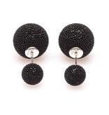 Double Dots Black Spike