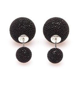 Double Dots Black Spike