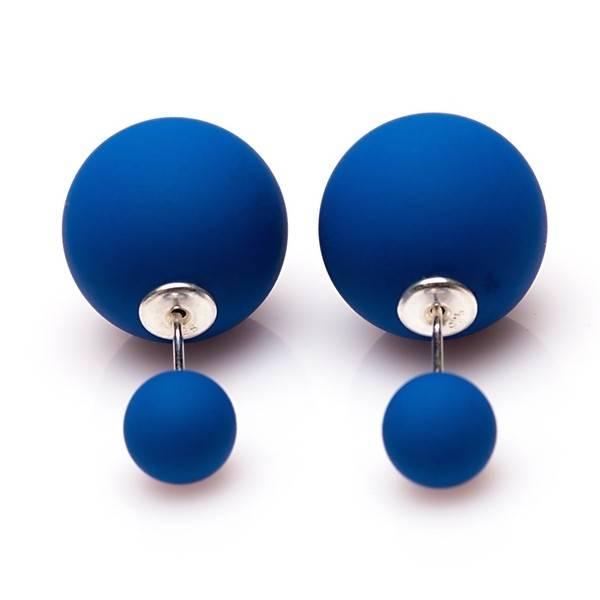 Double Dots Matte Blue