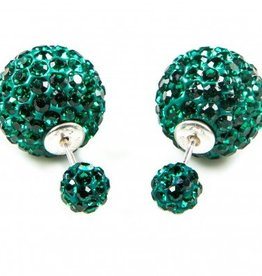 Double Dots Emerald Crystal
