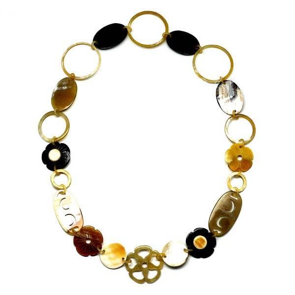 "Horn necklace 'Summertime"""