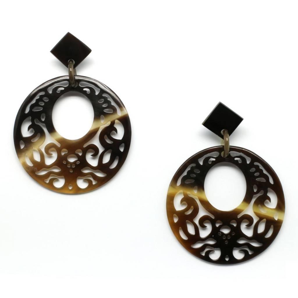 """Horn earrings """"Odessey"""""""