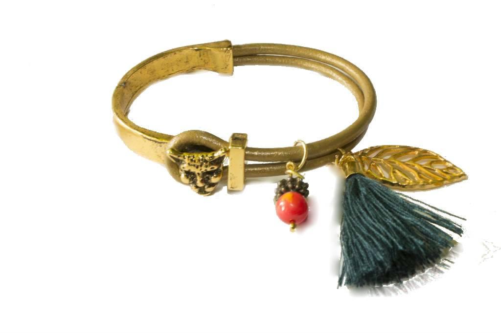 Bracelet inspired on Henri Rousseau