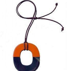 "Horn pendant ""Sunny"""