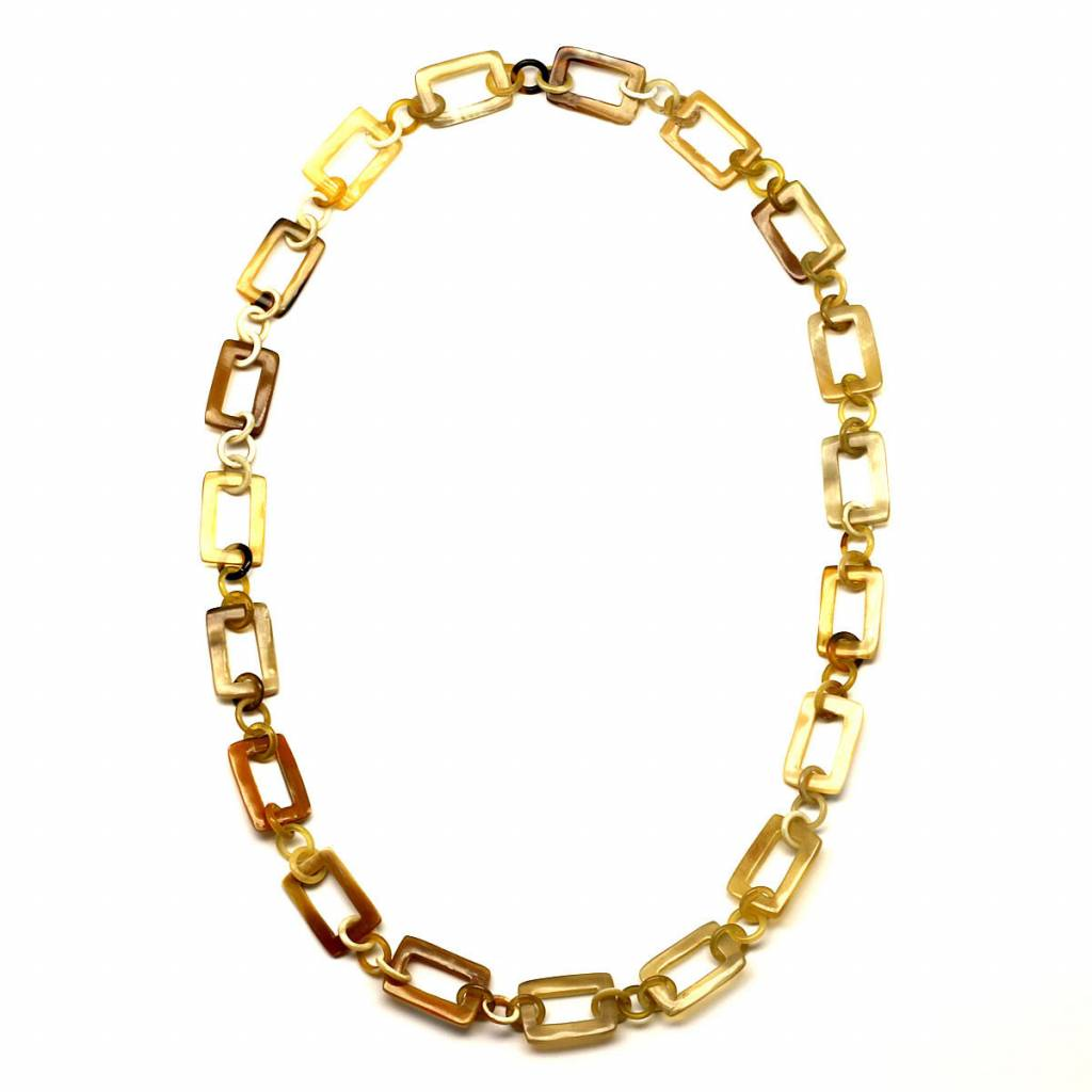 """Horn necklace """"Gold"""""""