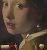 Girl with the pearl earring poster