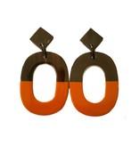 """Horn earrings """"Sunny"""""""
