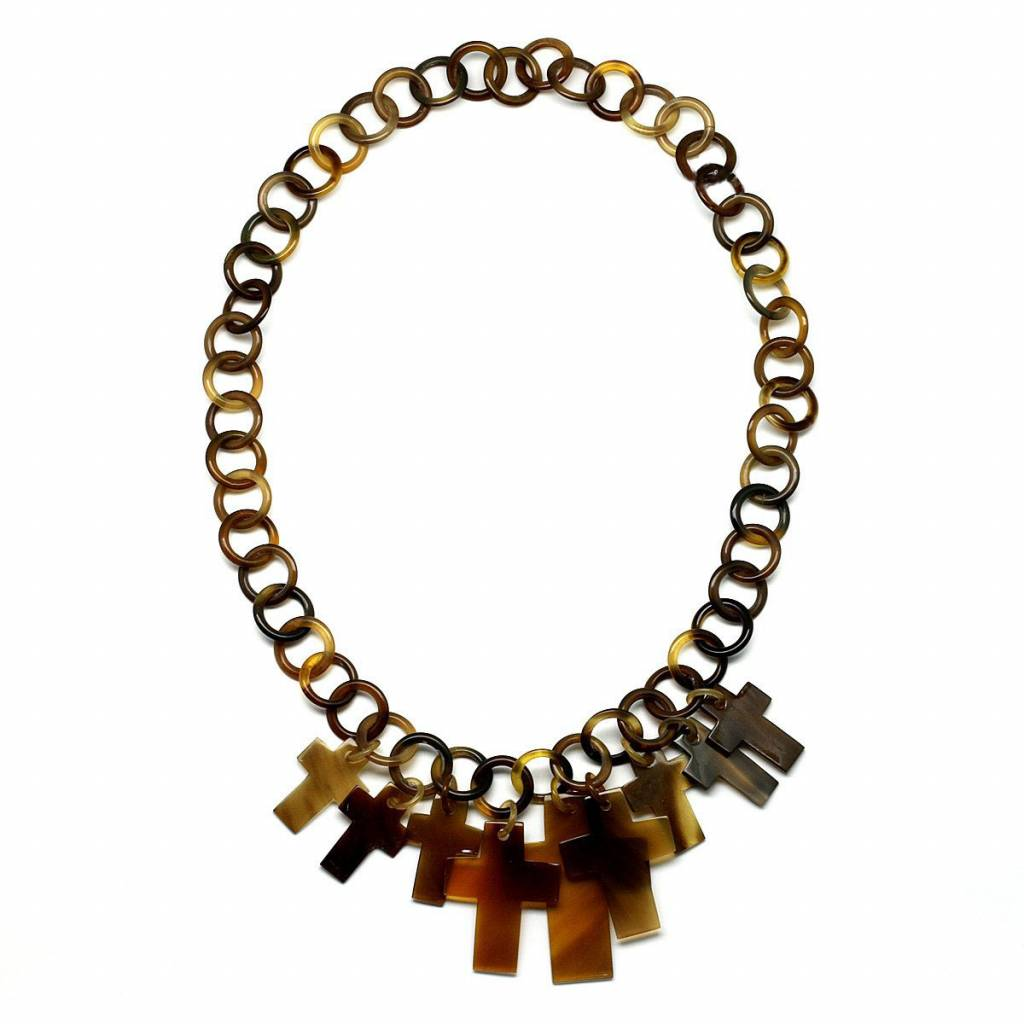 """Horn necklace """"Relics"""""""