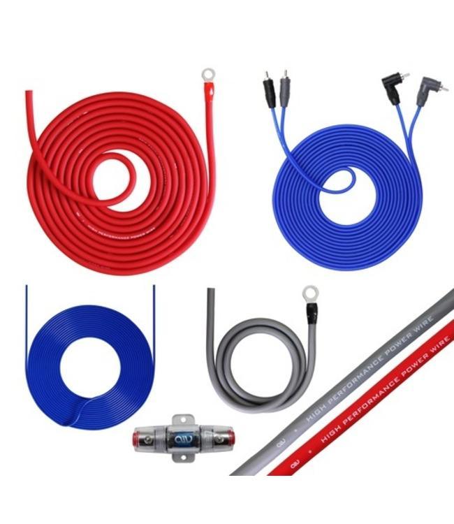 Necom AIV350940 Aansluit set / Kabel set voor het aansluiten van auto versterker/booster