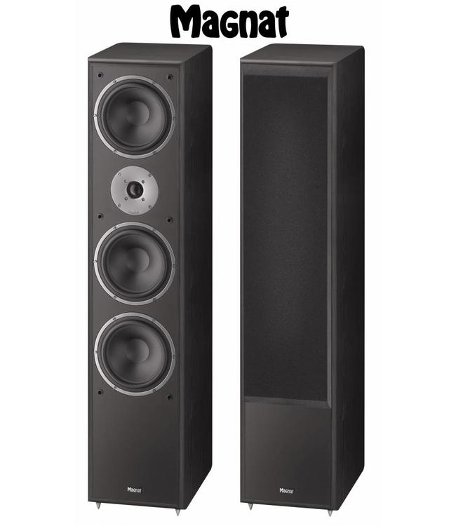 Magnat Monitor Supreme 1002 zuil luidspreker met een warm en vol geluid kleur zwart