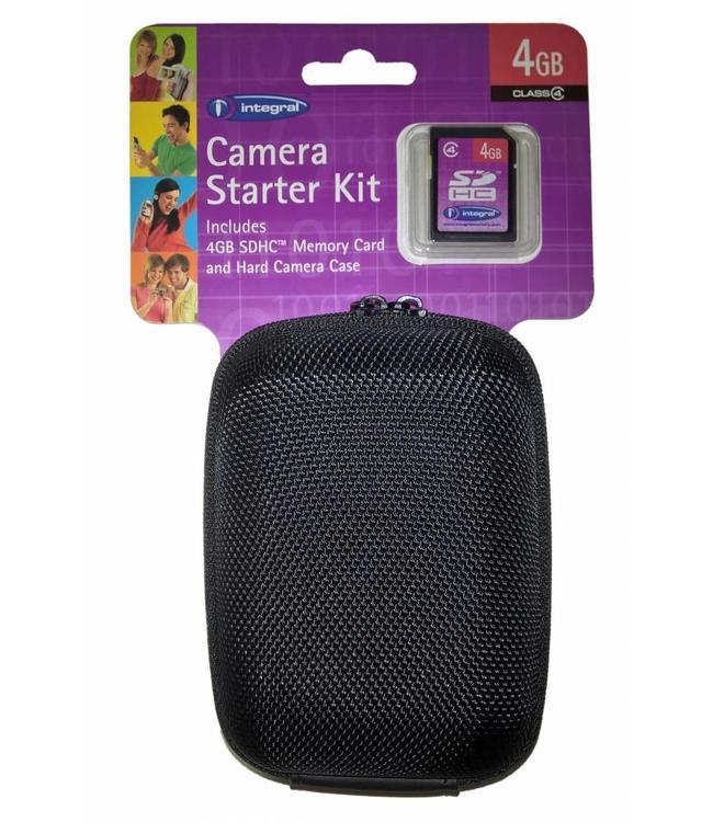 Integral Harde camera bescherm tas + GRATIS SD kaart