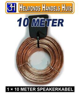 KABEL 10 Meter speaker kabel (1x)