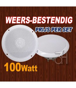 Inbouw speakers 100Watt