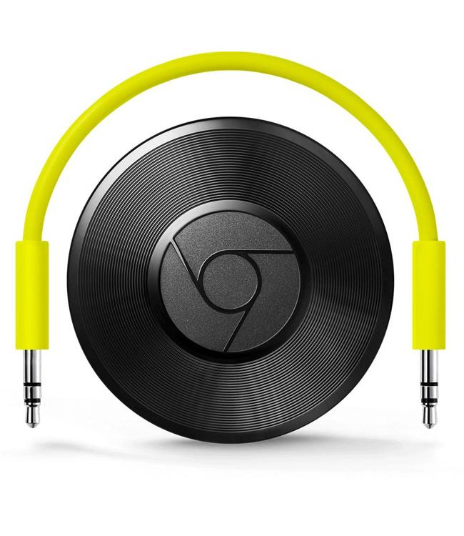 Chromecast audio streamer van GOOGLE