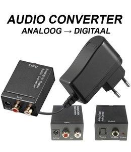 Audio converter analoog-digitaal