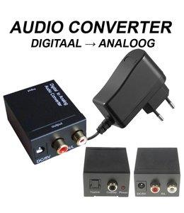 Audio converter digitaal-analoog